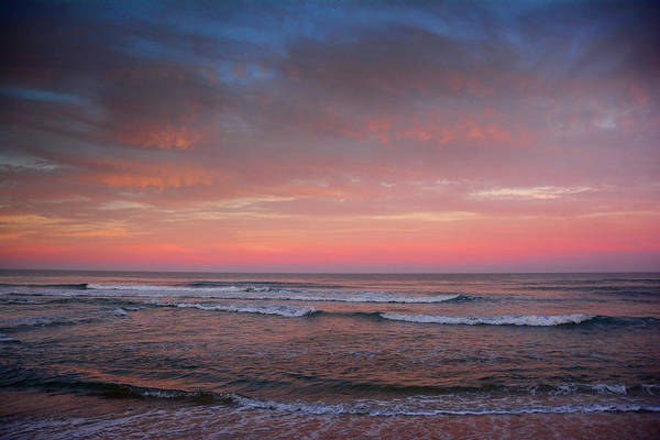 Photograph - Nj Beach Sunset 2 by Raymond Salani III