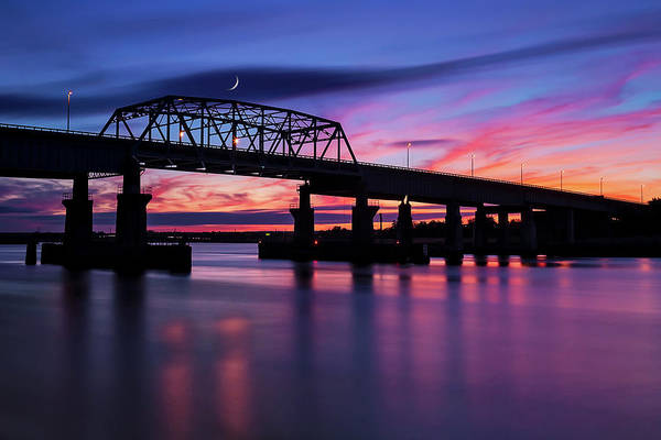 Photograph - Nj Meadowlands Sunset  by Susan Candelario