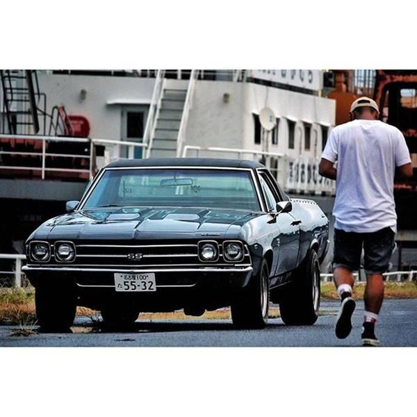 Chevrolet Corvette Photograph - . My Bro @yuuyaqaz El Camino Which Is by Takahiro Kojima