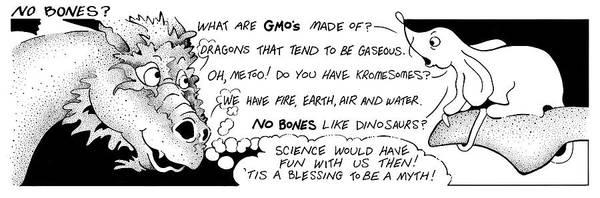 Drawing - Real Fake News Cartoon No Bones by Dawn Sperry