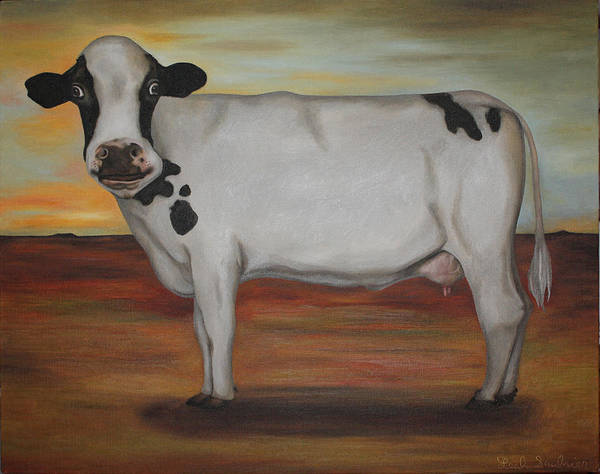 Wall Art - Painting - No Bull by Leah Saulnier The Painting Maniac