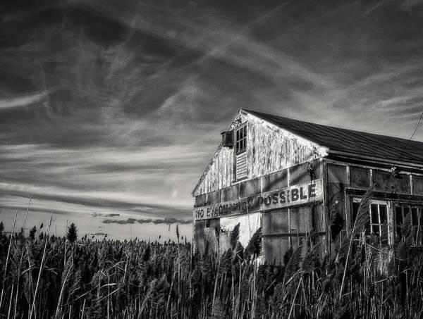 Photograph - No Evacuation by Rick Mosher