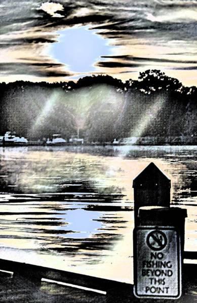 Photograph - No Fishin by Buddy Scott
