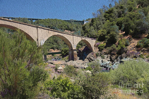 Wall Art - Photograph - No Hands Bridge by Anthony Forster