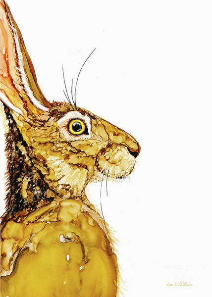 Painting - No Hare's About It by Jan Killian