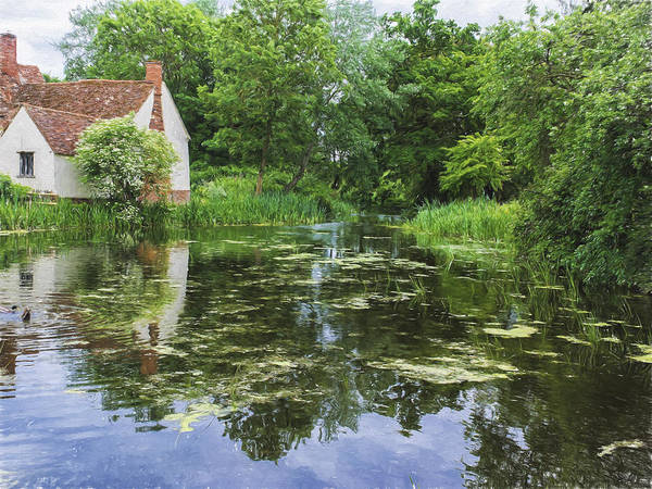 Photograph - No Haywain by Stephen Barrie