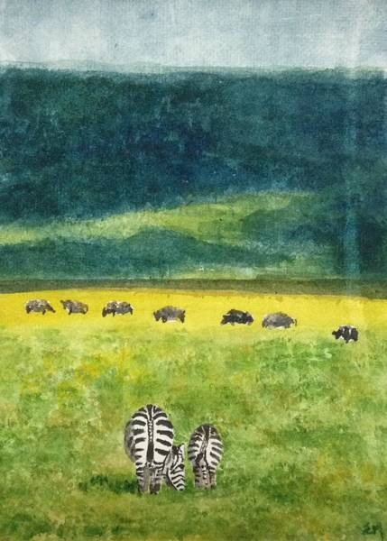Painting - No Hurry by Elizabeth Mundaden