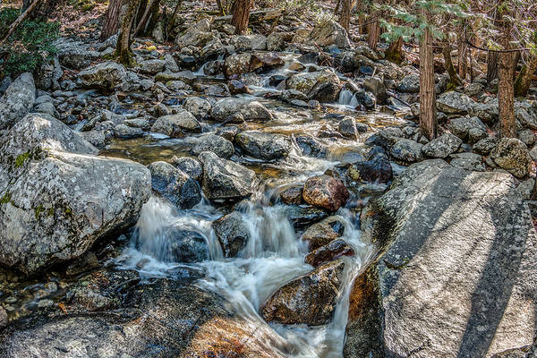 Photograph - Yosemite Rocks Near Bridal Veil Falls by Patti Deters
