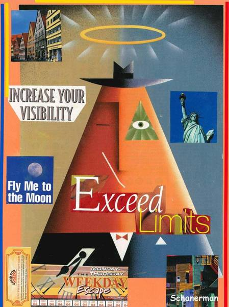 Mixed Media - No Limits by Susan Schanerman