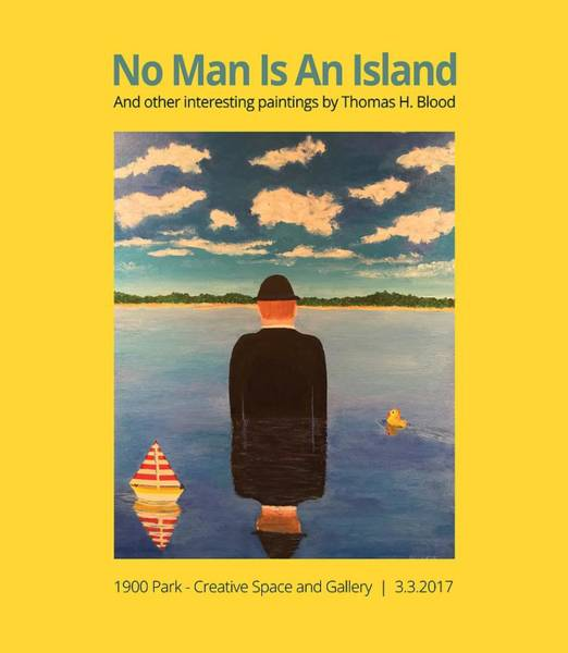 No Man Is An Island T-shirt Art Print