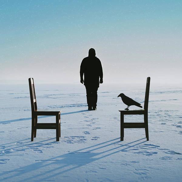 Conversation Photograph - No Man's Land by Art of Invi