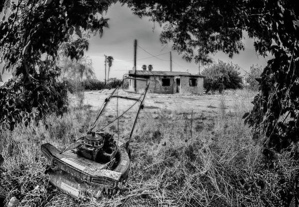 Photograph - No More Chores Bw by Scott Campbell