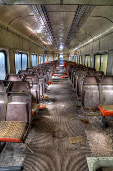 Photograph - No More Parties On This Train by David Patterson