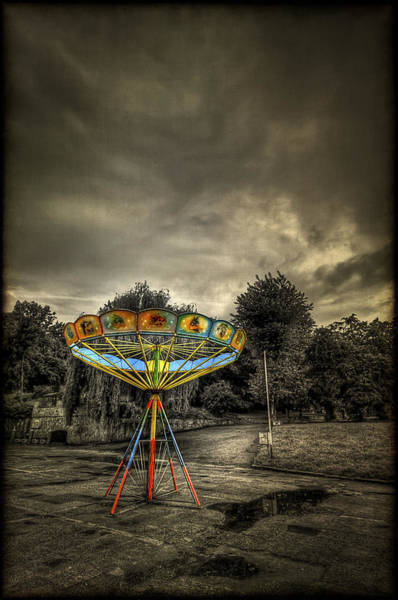 Carousels Photograph - No More Rides by Evelina Kremsdorf