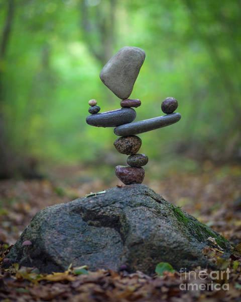 Sculpture - Zen Stack #5 by Pontus Jansson