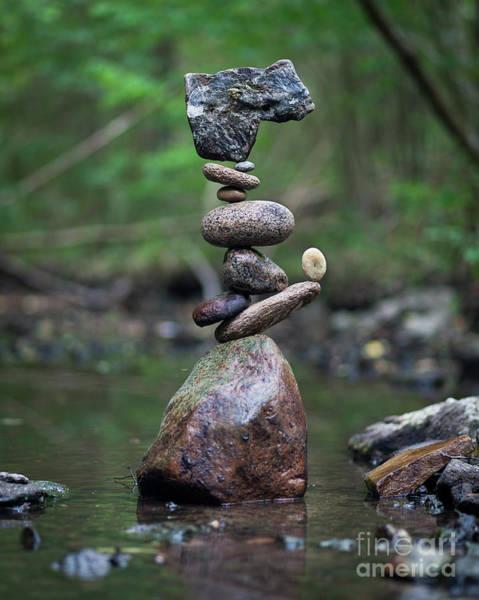 Sculpture - Zen Stack #8 by Pontus Jansson