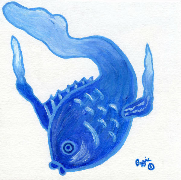 Painting - No Name Fish by Stephanie Agliano