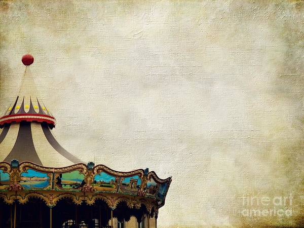 Merry Go Round Photograph - No One Will Know by AJ Yoder