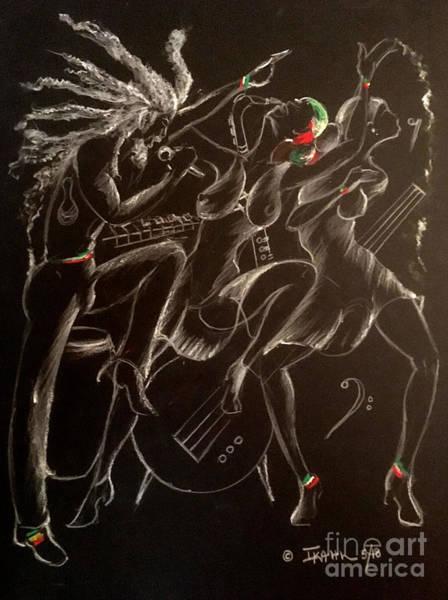 Wall Art - Mixed Media - No Pain by Ikahl Beckford