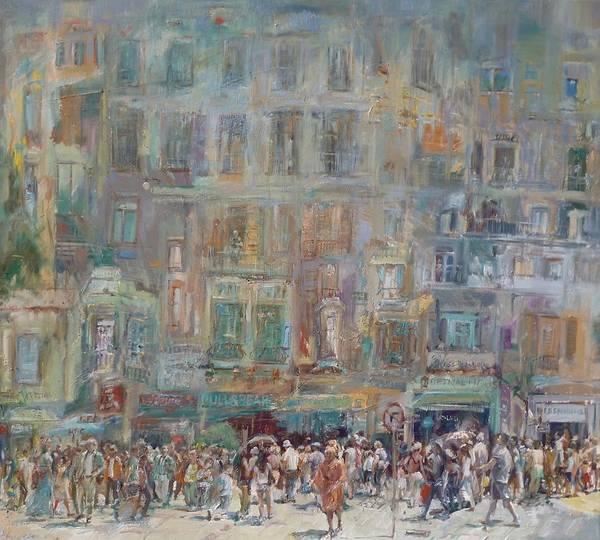 Interaction Painting - No Right Turn by Paskalis Anastasi