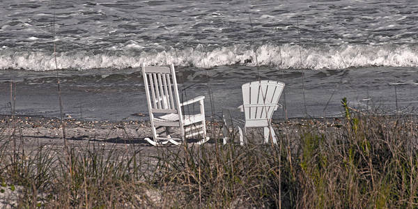 Oceanfront Photograph - No Rush To Be Anywhere Anytime Soon by Betsy Knapp