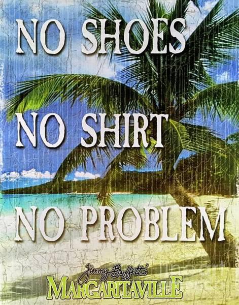 Jimmy Wall Art - Photograph - No Shoes No Shirt No Problem by Gracie Jane
