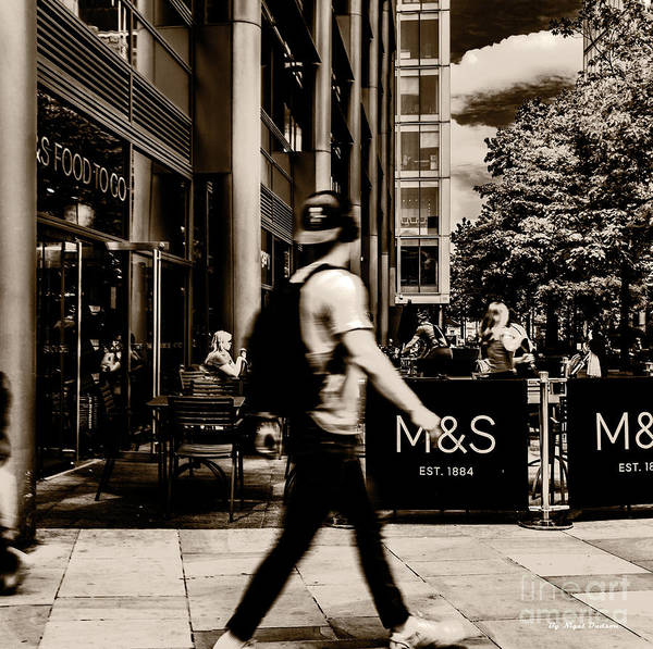 Photograph - No Time 4 T by Nigel Dudson