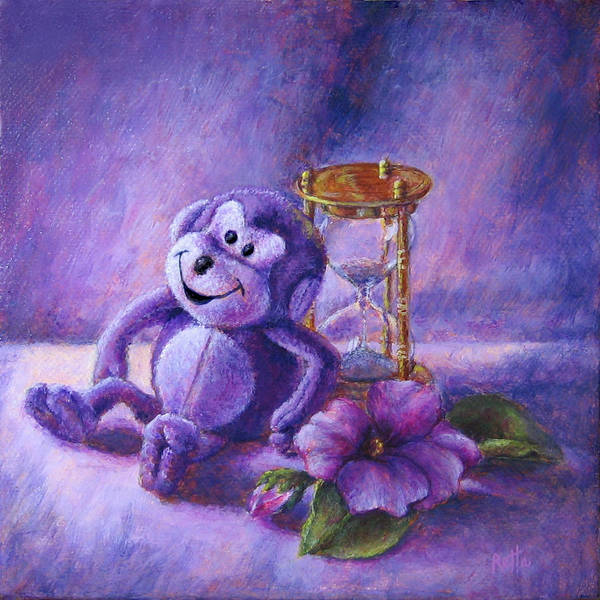 Painting - No Time To Monkey Around by Retta Stephenson