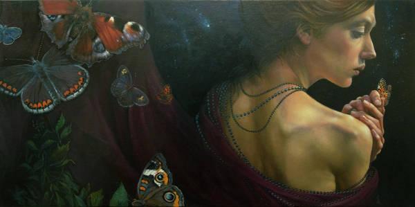 Wall Art - Painting - No Title 17 by Graszka Paulska