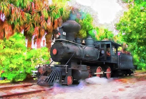 Photograph -  Tavares Eustis And Gulf Number Two Train by Alice Gipson