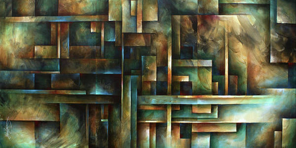 Wall Art - Painting - No Way Out by Michael Lang