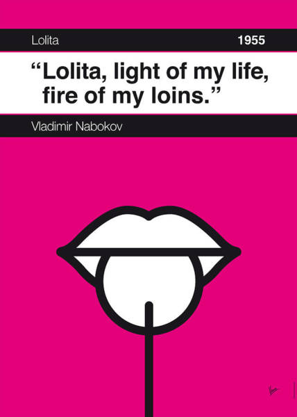 Fire Digital Art - No005 My Lolita Book Icon Poster by Chungkong Art