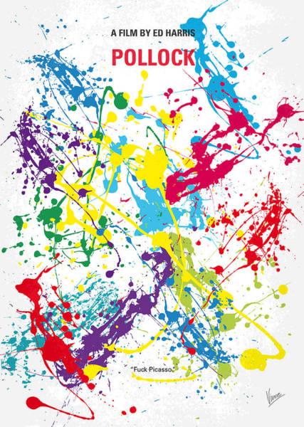 Wall Art - Digital Art - No065 My Polock Minimal Movie Poster by Chungkong Art