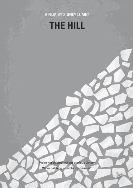 Hills Wall Art - Digital Art - No091 My The Hill Minimal Movie Poster by Chungkong Art