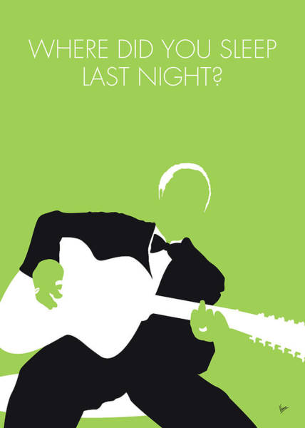 Wall Art - Digital Art - No096 My Lead Belly Minimal Music Poster by Chungkong Art