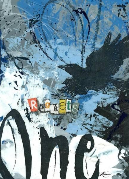 Acrylic Mixed Media - No.1 Regrets by Laura Lein-Svencner