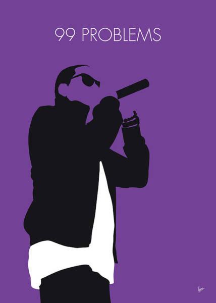 Live Digital Art - No101 My Jay-z Minimal Music Poster by Chungkong Art