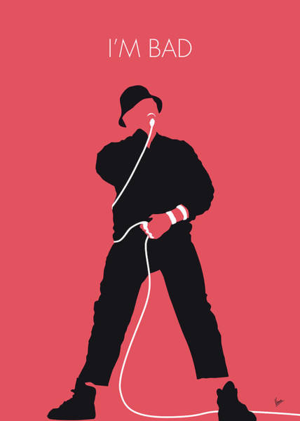 Bad Wall Art - Digital Art - No112 My Llcoolj Minimal Music Poster by Chungkong Art