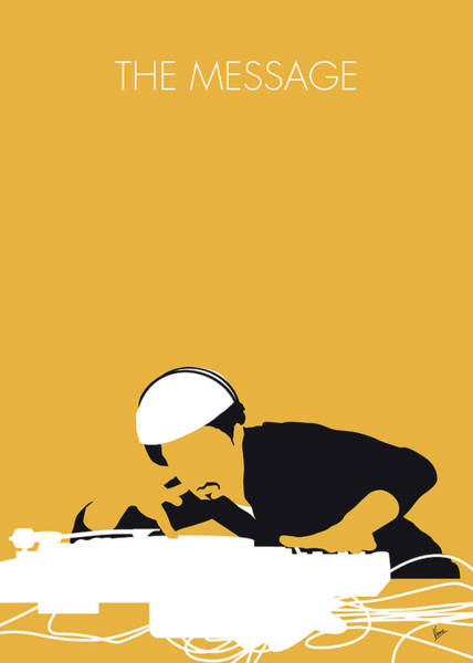 Legend Digital Art - No114 My Grandmaster Flash Minimal Music Poster by Chungkong Art