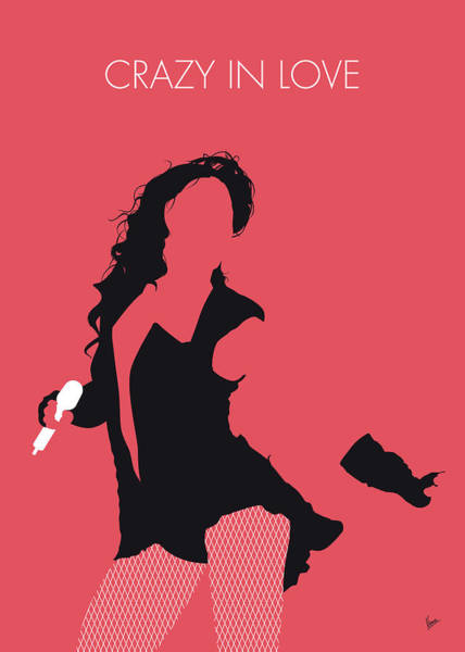 Wall Art - Digital Art - No122 My Beyonce Minimal Music Poster by Chungkong Art