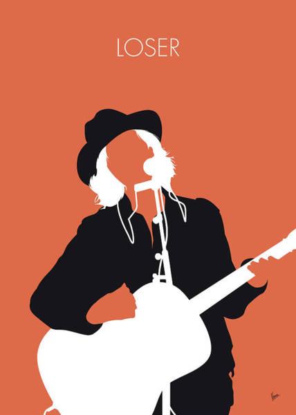 Wall Art - Digital Art - No123 My Beck Minimal Music Poster by Chungkong Art