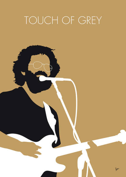 Wall Art - Digital Art - No140 My Grateful Dead Minimal Music Poster by Chungkong Art