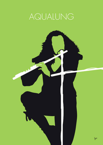 Wall Art - Digital Art - No146 My Ian Anderson Minimal Music Poster by Chungkong Art