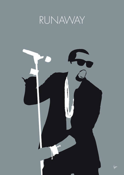 Wall Art - Digital Art - No157 My Kanye West Minimal Music Poster by Chungkong Art