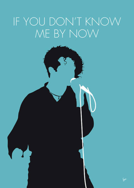 Best New Artist Digital Art - No165 My Simply Red Minimal Music Poster by Chungkong Art