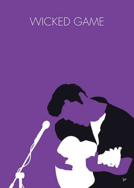 Wall Art - Digital Art - No171 My Chris Isaak Minimal Music Poster by Chungkong Art