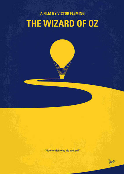 Cinema Digital Art - No177 My Wizard Of Oz Minimal Movie Poster by Chungkong Art