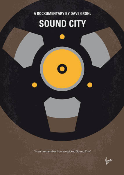 Machines Digital Art - No181 My Sound City Minimal Movie Poster by Chungkong Art