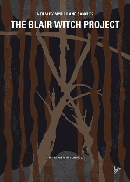 No476 My The Blair Witch Project Minimal Movie Poster Art Print