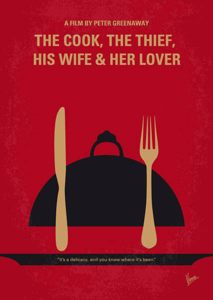Albert Wall Art - Digital Art - No487 My The Cook The Thief His Wife And Her Lover Minimal Movie by Chungkong Art